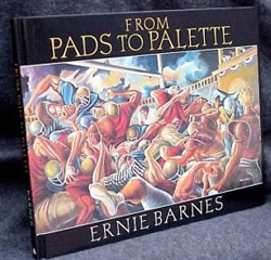 Ernie Barnes From Pads to Palette autobiography